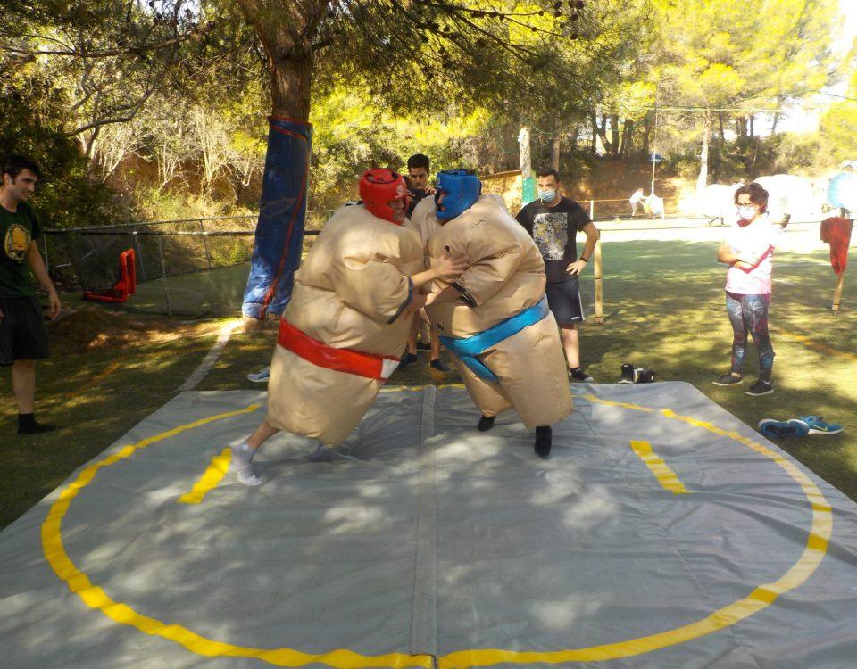 juegos al aire libre Valencia