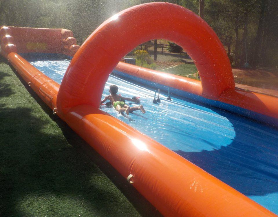 juegos verano agua humor amarillo infantil